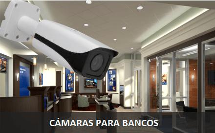 Cámaras de seguridad para Bancos y Finanzas