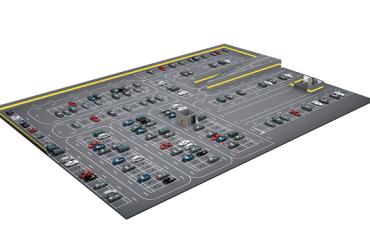 Gestión inteligente de estacionamientos Dahua