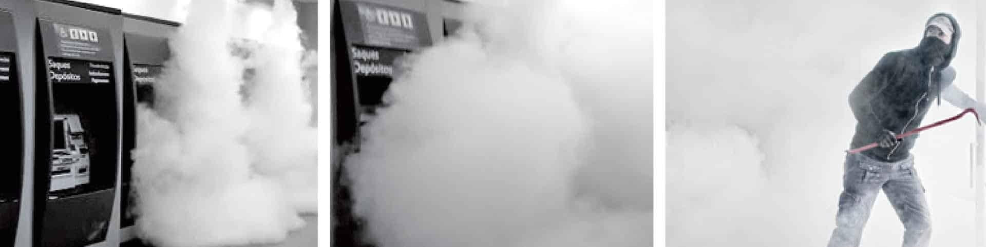 Cañón de Niebla, La respuesta tecnológica a un robo frustrado