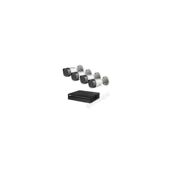 KIT HDCVI 4 CÁMARAS EXTERIOR FULL HD, 2MP (1080P) HCVR HDD 1TB DAHUA