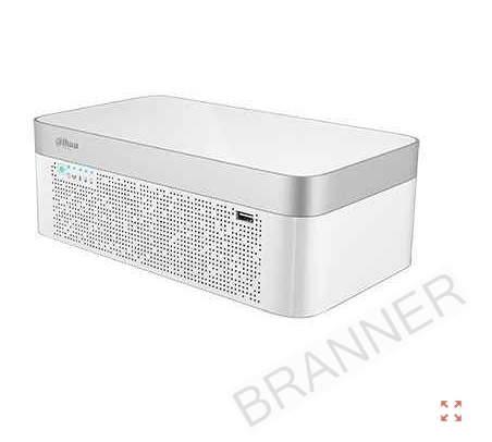 XVR Dahua 4K 8CH HDCVI +8IP 1HDD H.265+ Batería de respaldo