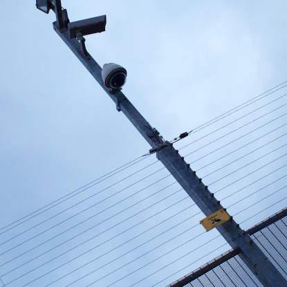 Monitoreo y Control de Alarmas del Cerco Eléctrico y Cámaras de Seguridad